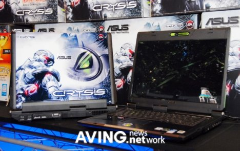 PC portable Asus G1S CRYSIS