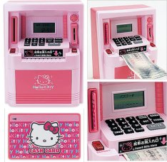 Hello Kitty ATM bank