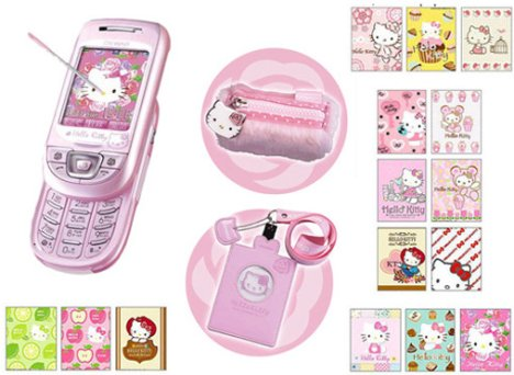 telephpne dons les filles Hellokitty-us