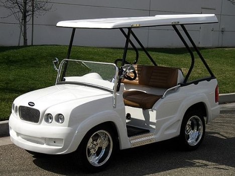 LuxuryRide Cart for golfers