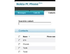 PC Phone from Nokia Beta Labs