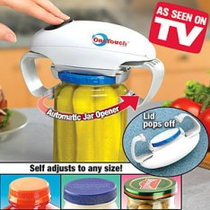 Hands-Free One Touch  Jar Opener