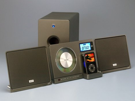 Teac wall-mounted iPod dock