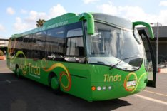 First solar-powered bus in the world