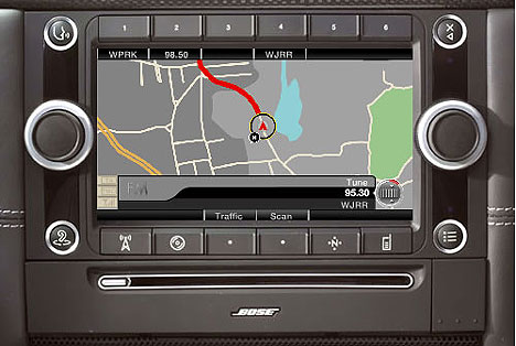 Bose Media System does GPS