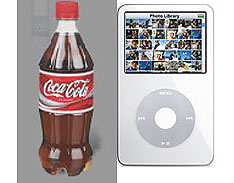 Coke-powered iPods a possibility