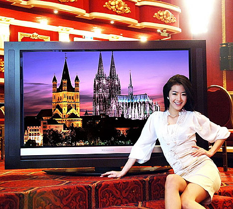 LG launches wooden HDTVs