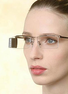 New generation of video glasses