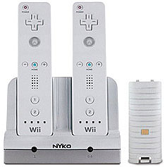 Charging System for exhausted Wiimotes