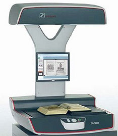 Hand scanner that does books