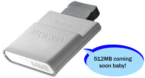 New Xbox 360 memory unit coming soon