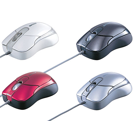 New laser mouse from Buffalo