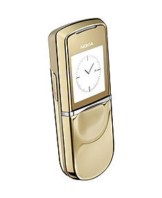 Nokia 8800 Sirocco touched by Midas