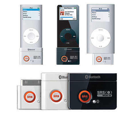 SRS-200BD brings Bluetooth to iPods