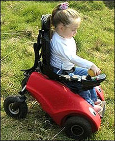 Wizzybug for disabled young uns