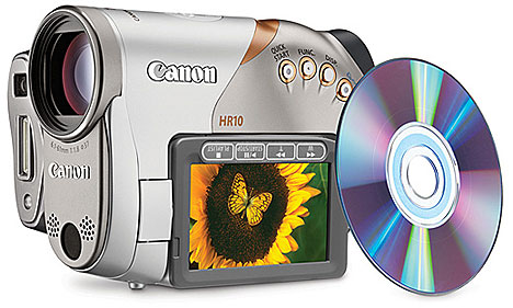 Canon HR10 HD camcorder