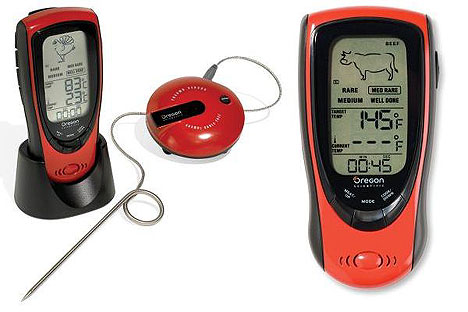 Talking Food Thermometer gives go ahead