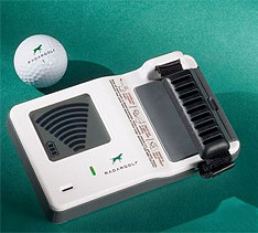 Radio Frequency Golf Ball Finder
