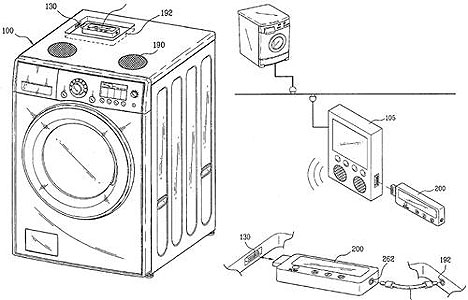 LG patents iPod washing machine