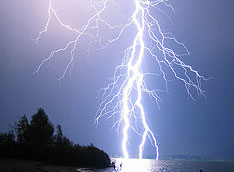 Nokia phones detect lightning