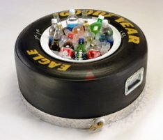 NASCAR Tire Race Cooler for fans