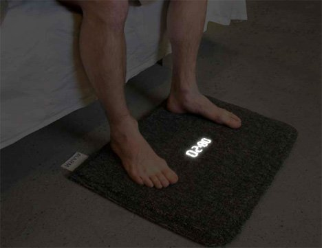 Carpet Alarm Clock concept