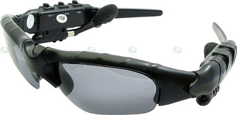 MP3 glasses from Digital Cowboy
