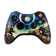 McFarlane-inspired Xbox 360 controllers