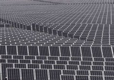 Largest solar power farm in the world