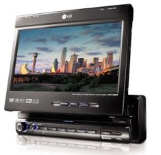 LG LAD-9600 in-car DVD player