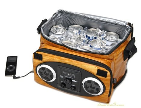 Glacière étanche Woodland iPod Ice Chest Cooler