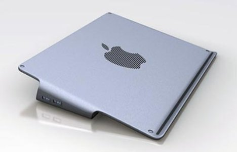 MacBook Pro cooling solution concept