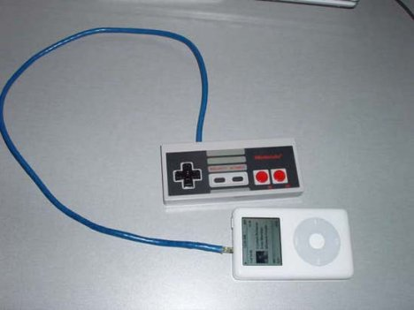 NES Controller does the iPod