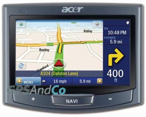 Acer P700 GPS Series With New ALK CoPilot 7