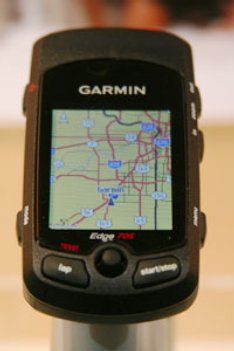 Garmin Edge with Maps and ANT tech
