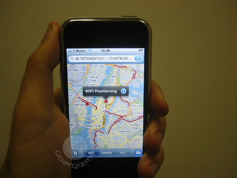 iPhone gets Assisted GPS