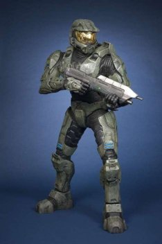 Master Chief under Tussauds spell