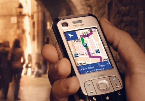 Cellphone users using maps increase