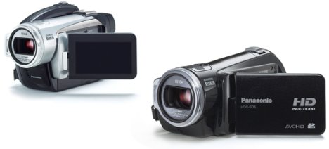 Panasonic goes HD with new camcorders