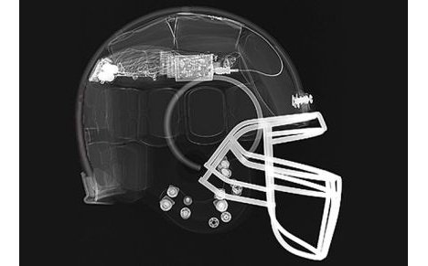Football helmet could save lives