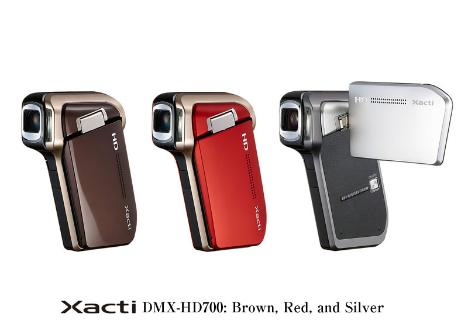 Sanyo DMX-HD700 HD Pocket Camcorder