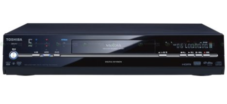 Toshiba has new DVD recorders
