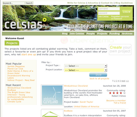 Celsias: Website for Fighting Global Warming