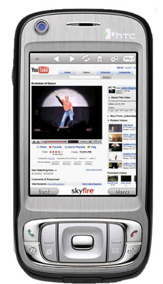 SKYFIRE New Mobile Browser Optimized for Flash and Ajax