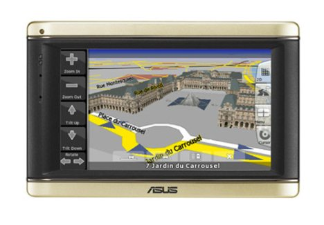 Asus releases R700 GPS device