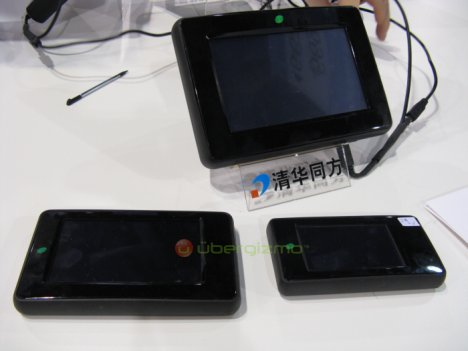 Variety of Limepc devices on parade