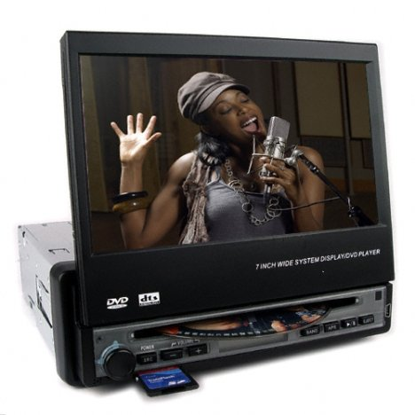 Motorized Car DVD Player