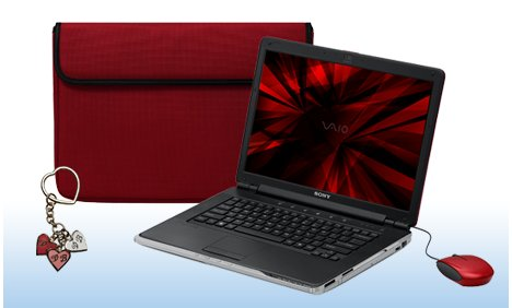 PC portable Sony Sangria Red CR