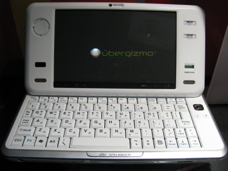 Viliv UMPC is extremely portable
