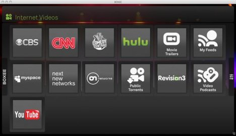 Hulu and CBS.com available on Boxee TV